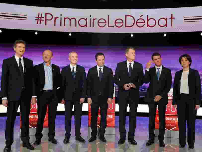 Les déclarations les plus importantes du premier débat de la primaire de la gauche