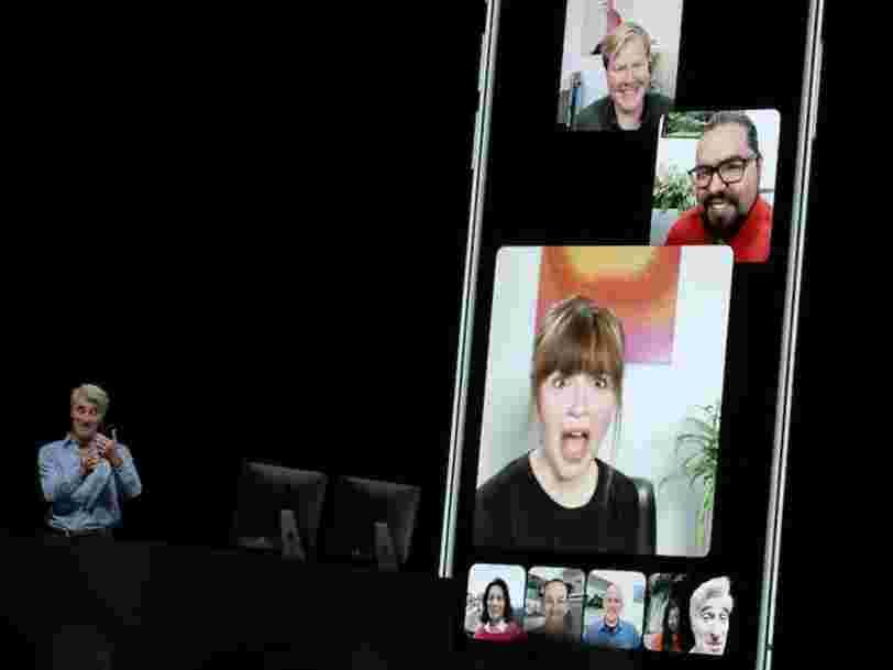 Apple retarde la sortie des appels FaceTime en groupe, une des fonctionnalités les plus attendues du prochain iOS
