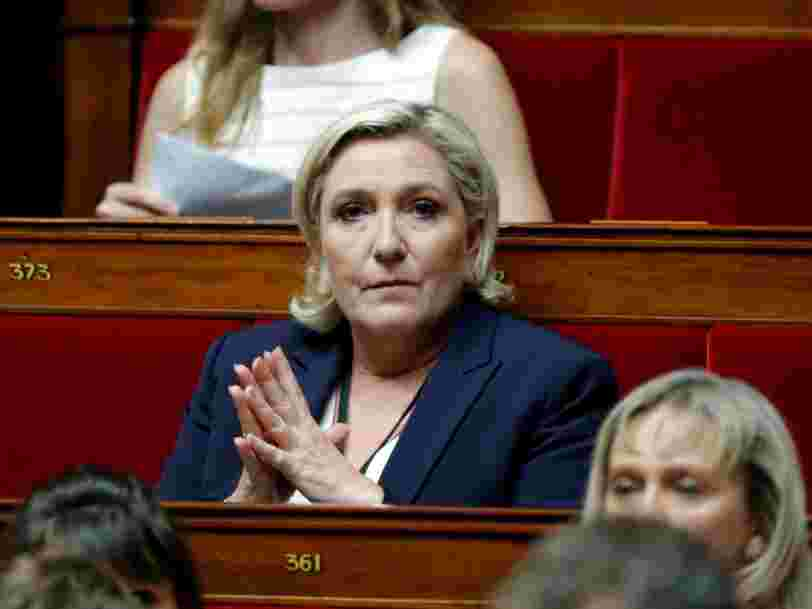 Marine Le Pen est mise en examen pour abus de confiance dans le dossier des assistants parlementaires européens