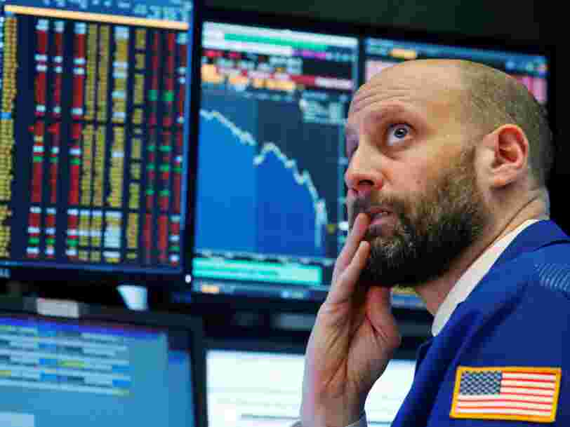 Avis de tempête sur Wall Street — comment le Dow Jones a subi la plus forte perte de points de son histoire