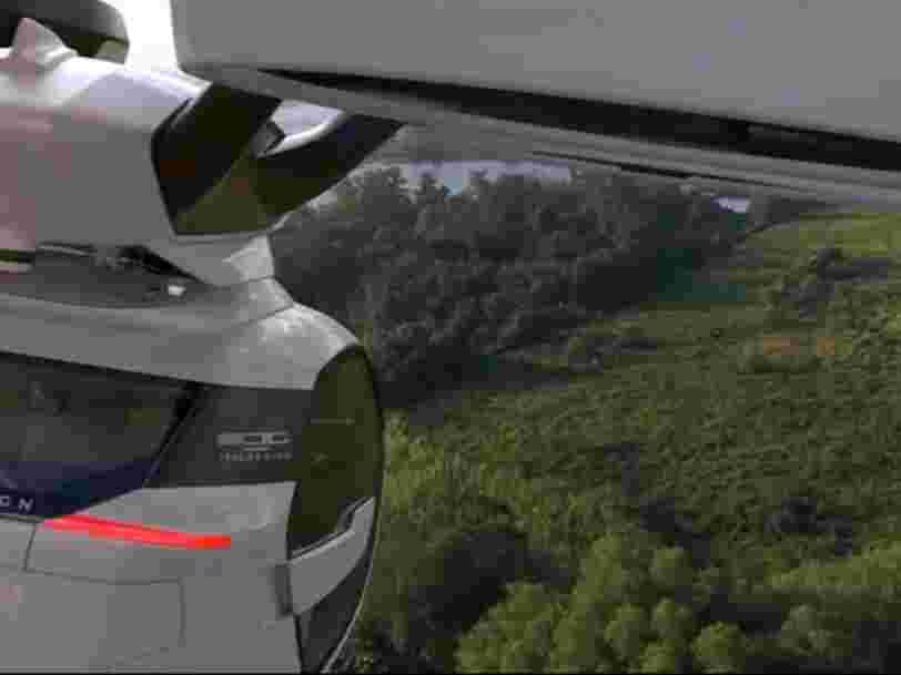 Airbus a dévoilé sa voiture quasi-volante — voici la première vidéo