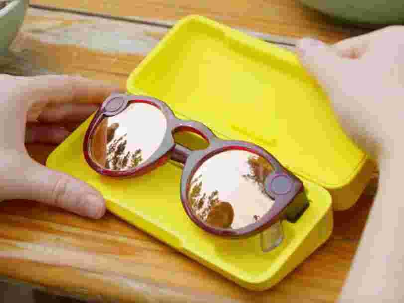 Snap vient de lancer une nouvelle version de ses lunettes-caméras, Spectacles