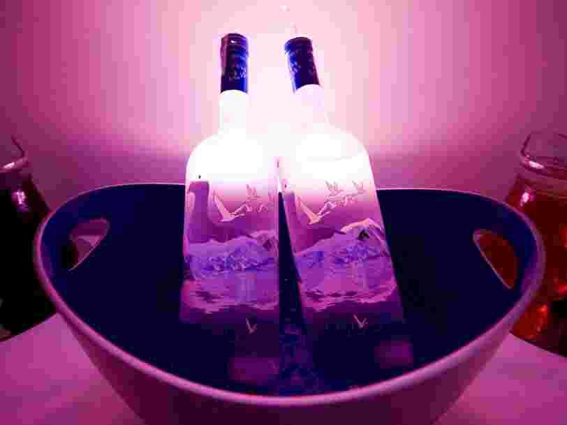 Voici pourquoi vous ne devriez jamais mettre de vodka au congélateur, selon le créateur de Grey Goose