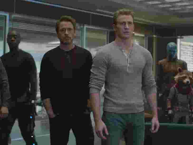 Voici à quoi ressemblaient les acteurs d''Avengers : Endgame' lorsqu'ils sont apparus pour la première fois dans un film Marvel