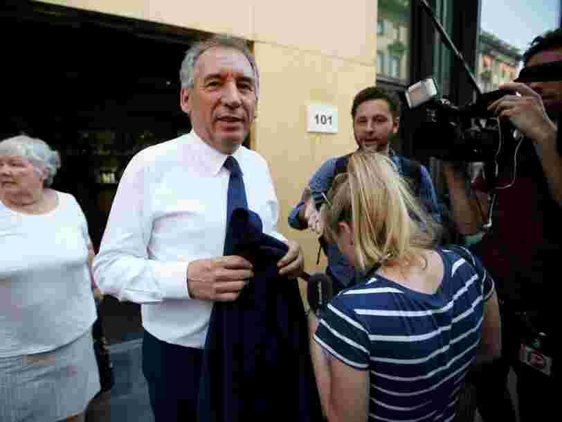 François Bayrou dit pourquoi il a 'choisi de ne pas participer au prochain gouvernement'
