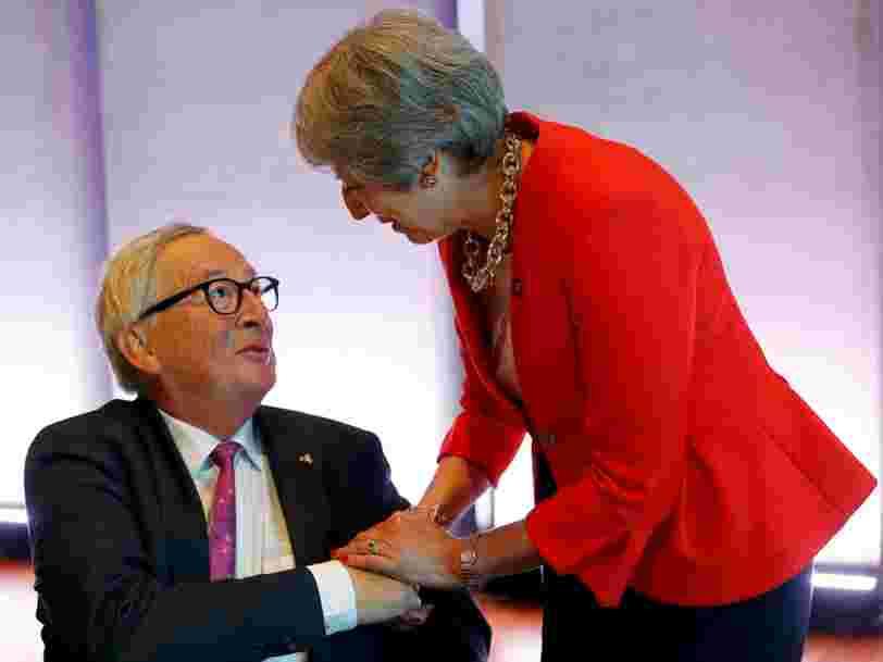 La phase finale de négociation du Brexit est un délicat numéro d'équilibriste d'après la description qu'en fait le président de la Commission européenne