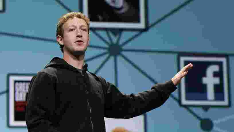 Facebook a publié un message pour ses utilisateurs: 'Non, vous n'êtes pas le produit'