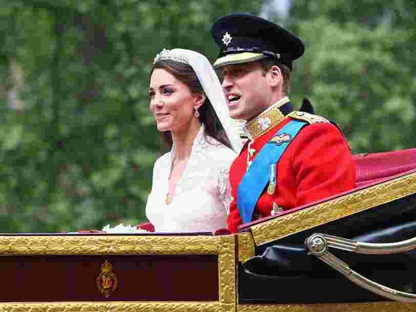 Meghan Markle et le prince Harry dépensent des millions de plus pour leur mariage que le prince William et Kate Middleton