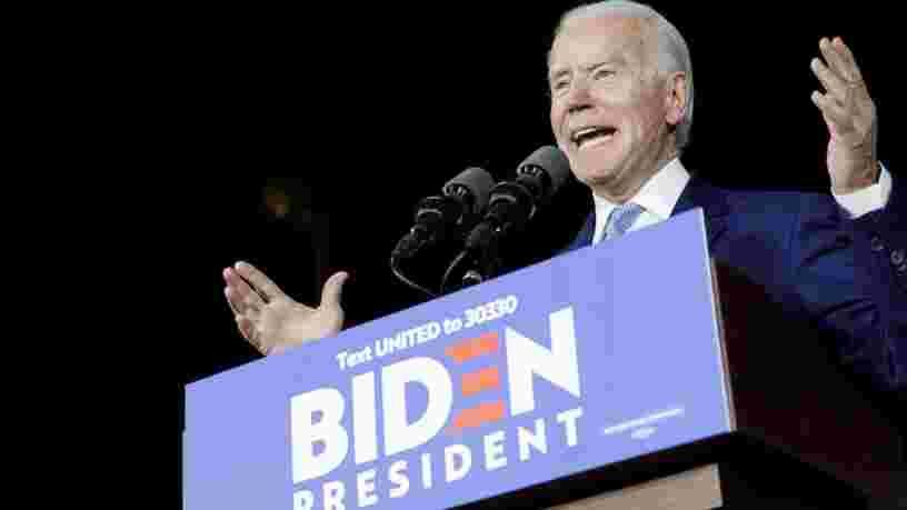 Joe Biden revient en force lors du 'Super Tuesday' mais Bernie Sanders s'accroche