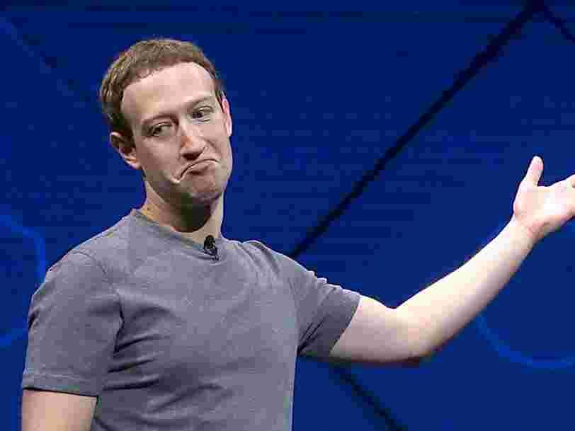 Facebook dit que ses utilisateurs passent 50 millions d'heures en moins par jour sur sa plateforme