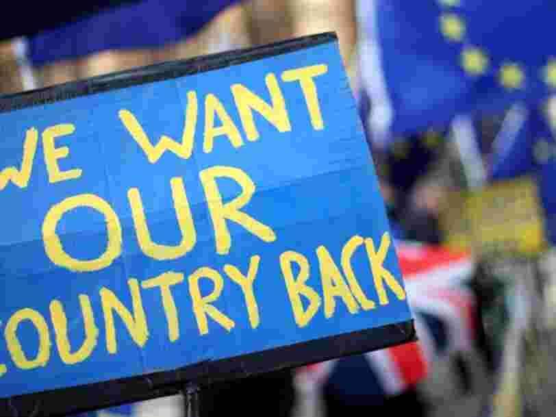L'opinion publique britannique est maintenant en faveur d'un second référendum sur le Brexit