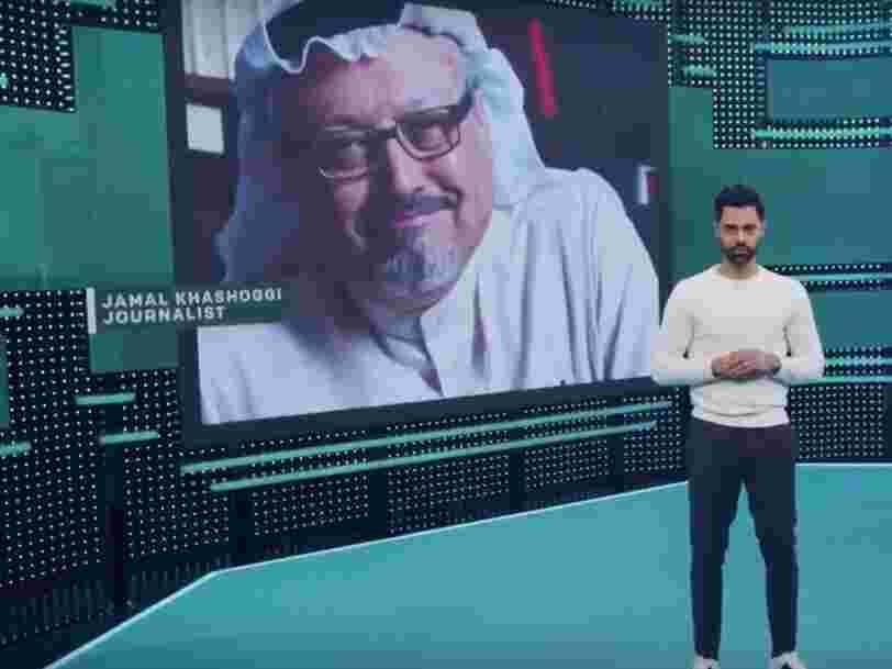 Netflix a retiré en Arabie Saoudite un épisode d'une émission satirique évoquant le meurtre du journaliste saoudien Jamal Khashoggi