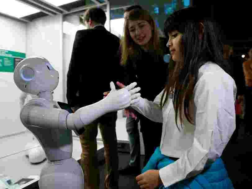 Les robots pourraient prendre nos emplois — mais les millennials ne sont pas inquiets