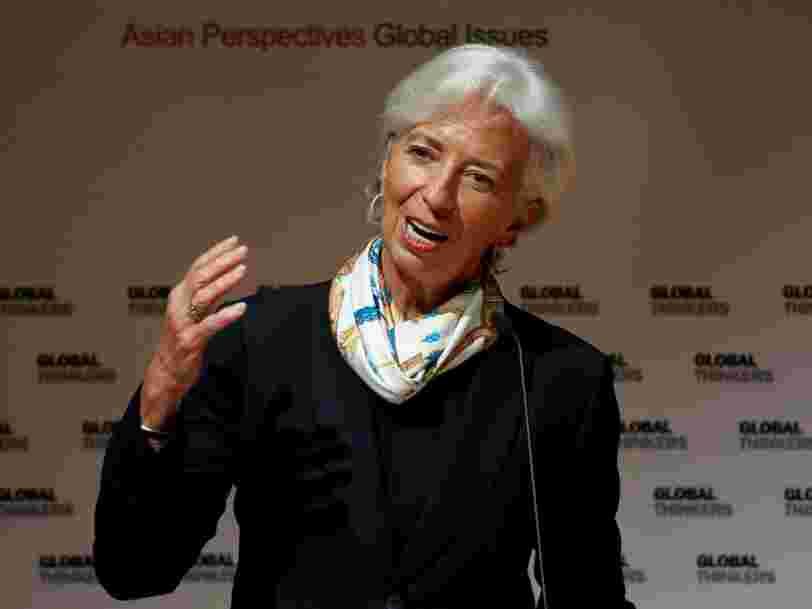 Christine Lagarde donne 3 priorités pour soutenir l'économie mondiale avant qu'elle ne ralentisse certainement