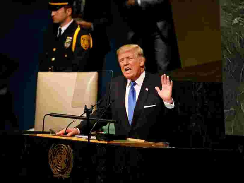 Donald Trump vient de s'exprimer pour la première fois devant l'ONU — voici ce qu'il a déclaré