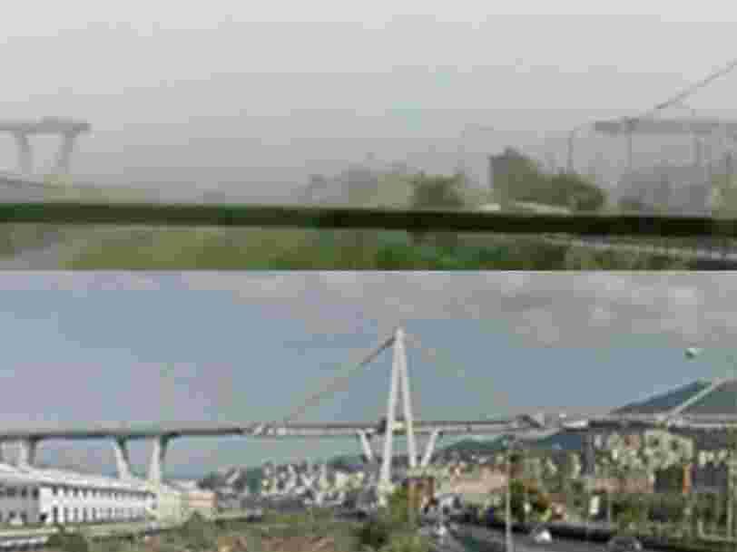 Au moins 22 personnes sont mortes après l'effondrement d'un pont autoroutier en Italie et le bilan pourrait s'alourdir