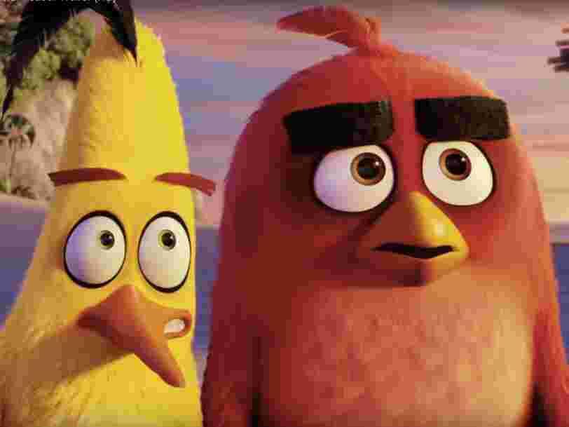 L'entreprise à l'origine du jeu 'Angry Birds' licencie près de 10% de ses effectifs