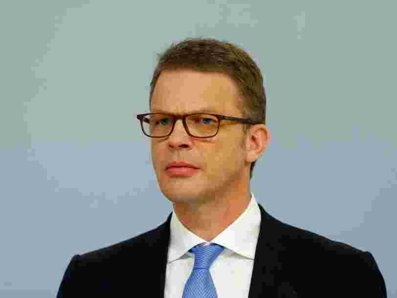 Deutsche Bank a annoncé une chute colossale de son bénéfice net au T1