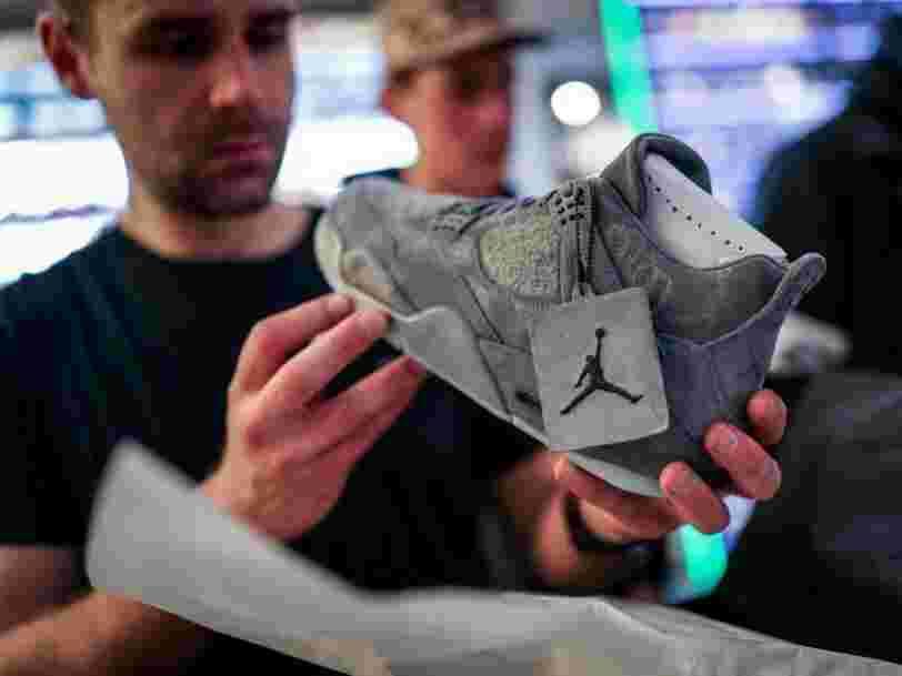 Nike a un problème 'impensable' jusqu'ici avec sa marque Jordan
