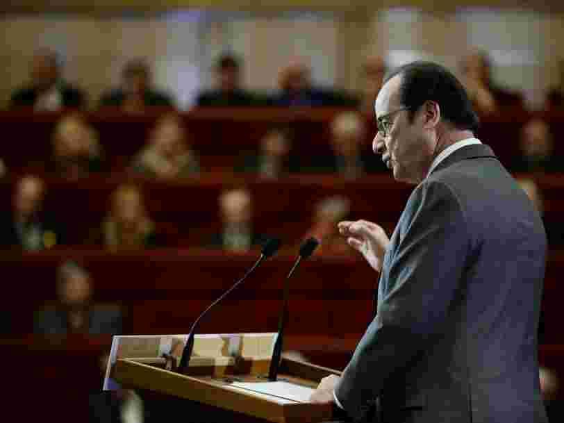 François Hollande est prêt à donner plus de pouvoir aux citoyens —mais il y a une étape difficile à franchir