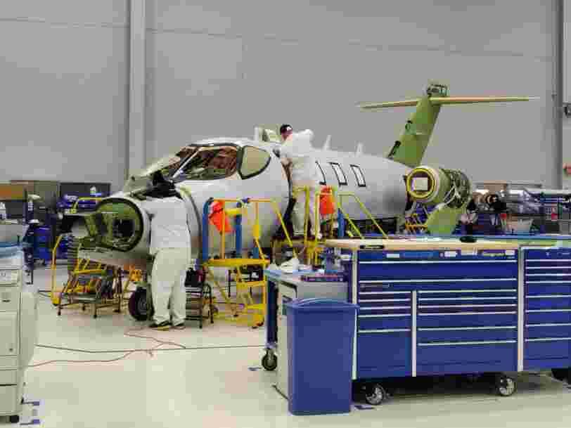 On a visité l'usine à 230 millions de dollars dans laquelle Honda construit son jet privé