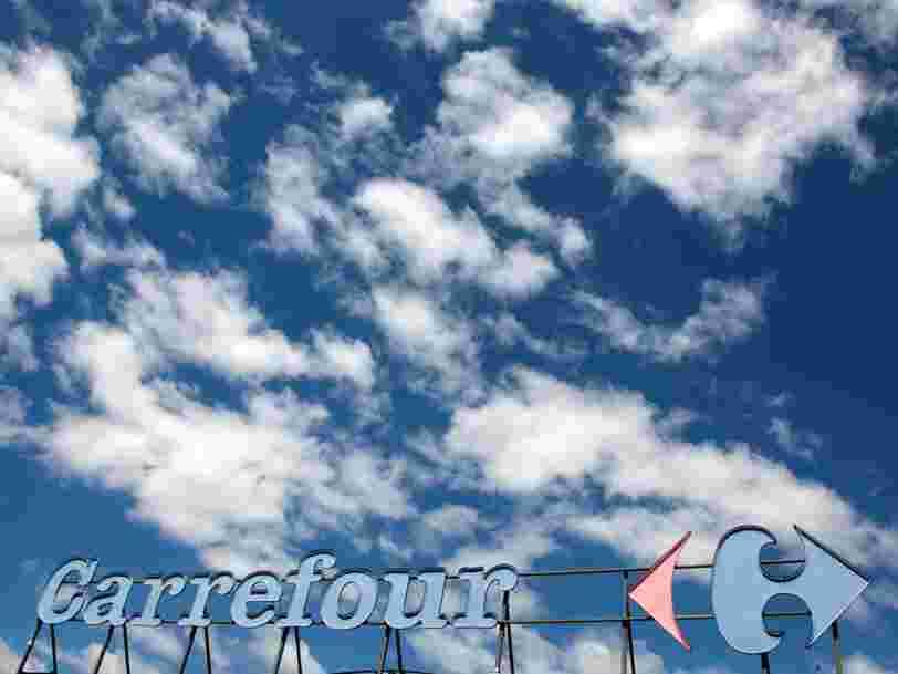 Carrefour déploie son service de livraison à domicile à toute la France