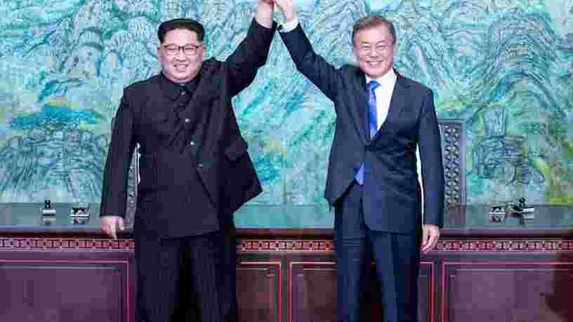 Les deux Corées se sont engagées à mettre fin à la guerre qui les oppose depuis 68 ans