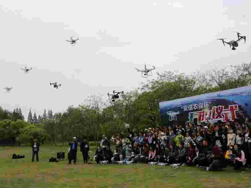 Voici ce que Bruxelles propose pour empêcher les drones civils d'approcher des aéroports et sites nucléaires