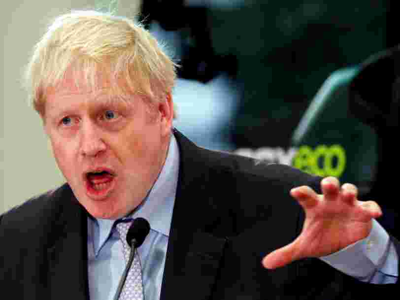 Boris Johnson menace de ne pas payer la facture du Brexit s'il devient Premier ministre