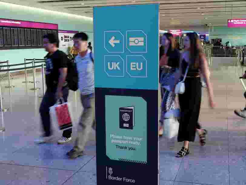 Le Brexit coûtera 40.000 postes de banquiers à Londres, estime une étude
