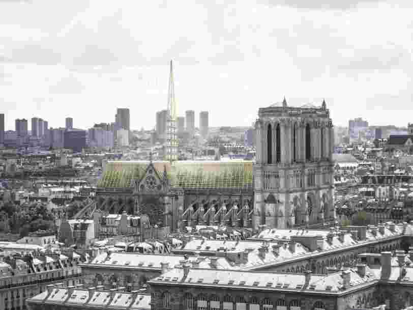 Notre-Dame de Paris : voici 12 projets innovants de reconstruction de la cathédrale