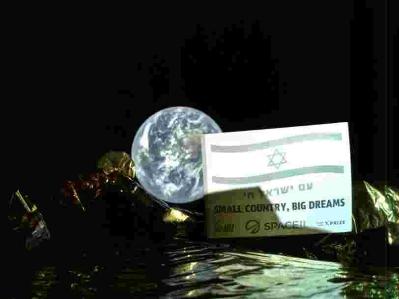 Le premier atterrisseur sur la Lune développé par une société privée a fait un selfie avec la Terre... et les 6 autres choses à savoir dans la tech ce matin