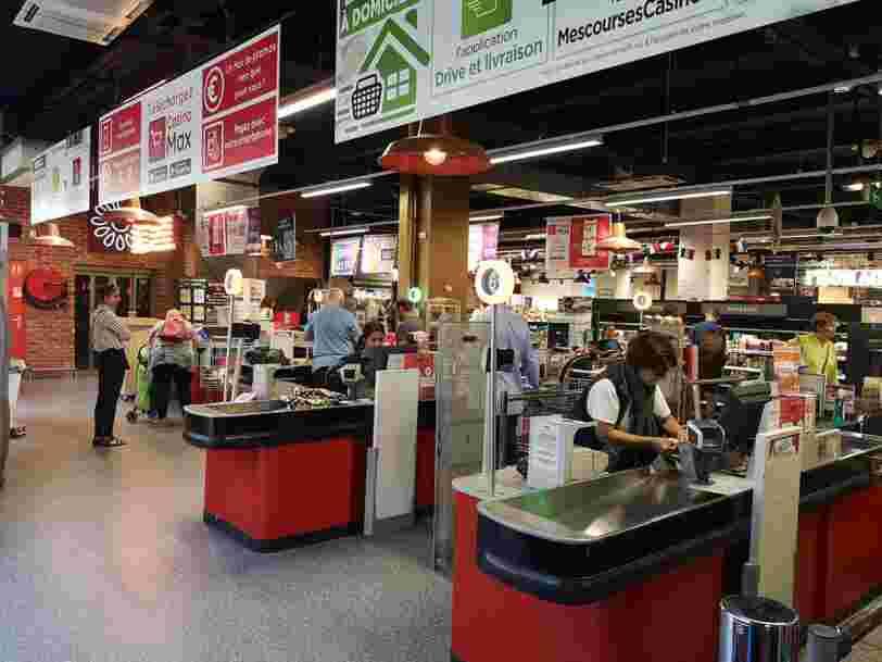 Le gouvernement va déterminer si l'ouverture le dimanche de l'hypermarché Casino d'Angers sans caissiers est bien légale