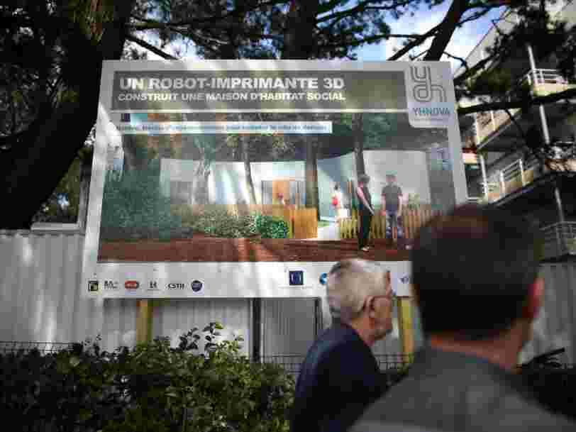 Une famille française est devenue la première à vivre dans une maison imprimée en 3D — voici à quoi elle ressemble