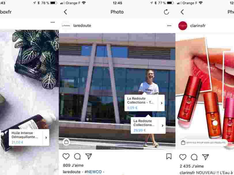 Instagram vous permet désormais de faire du shopping depuis une publication — et cette nouveauté est importante pour l'avenir de Facebook