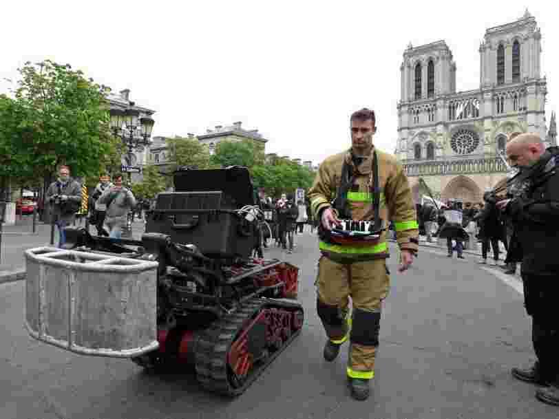 Tout ce que peut faire Colossus, le robot qui a aidé les pompiers à Notre-Dame