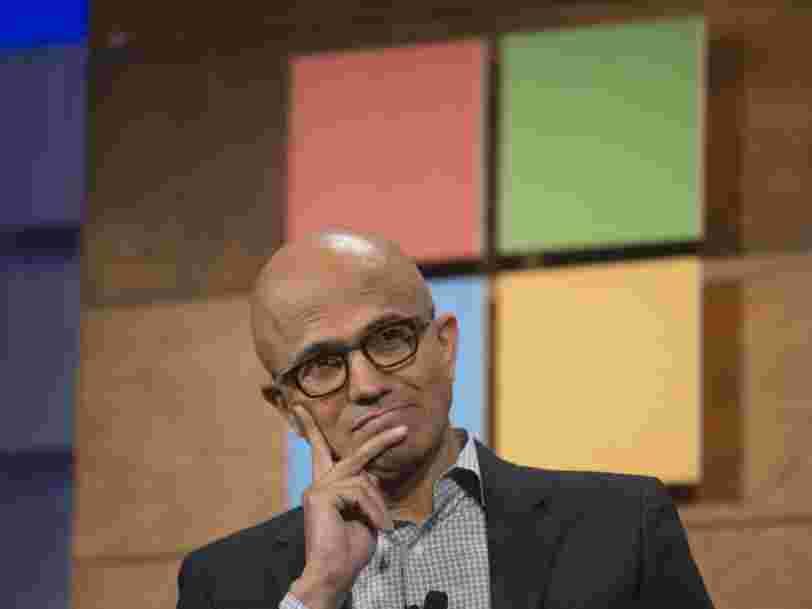 Les résultats de Microsoft dépassent les attentes de Wall Street —mais les ventes d'Azure déçoivent