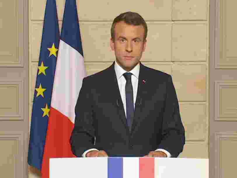 'Make our planet great again': Emmanuel Macron tacle Donald Trump en anglais après son annonce sur l'accord de Paris