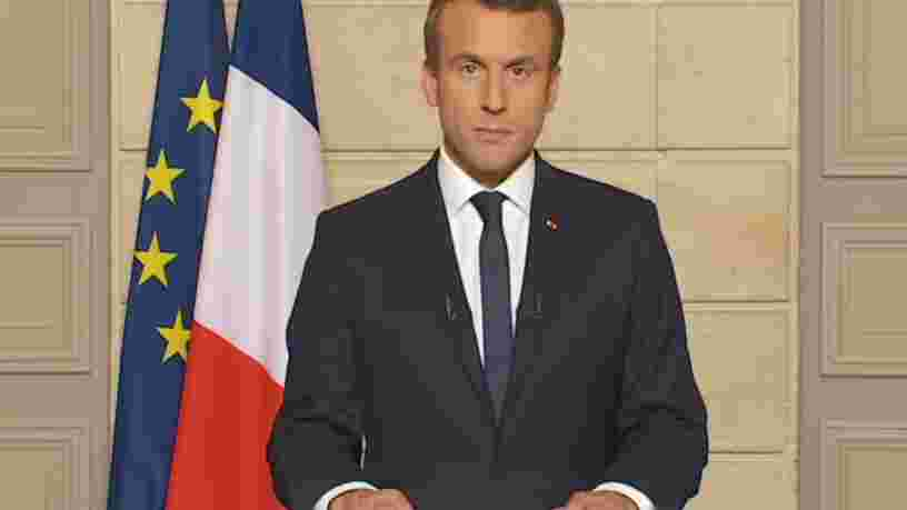 'Make our planet great again': Emmanuel Macron tacle Donald Trump en anglais après son annonce sur l'accord de Paris