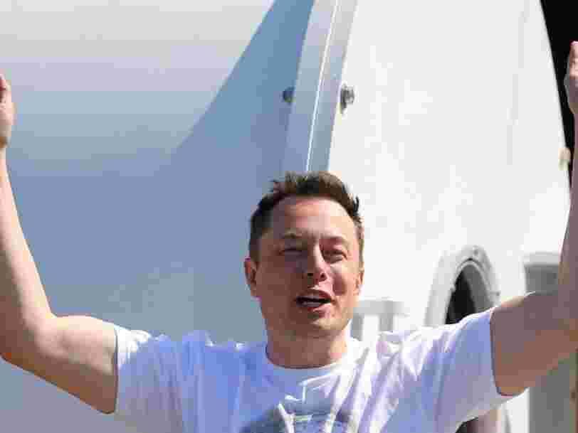 Elon Musk vient de défier le transport ferroviaire