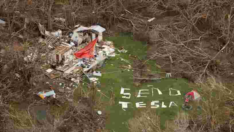 Elon Musk dit que les batteries Tesla pourraient remplacer le système électrique de Porto Rico