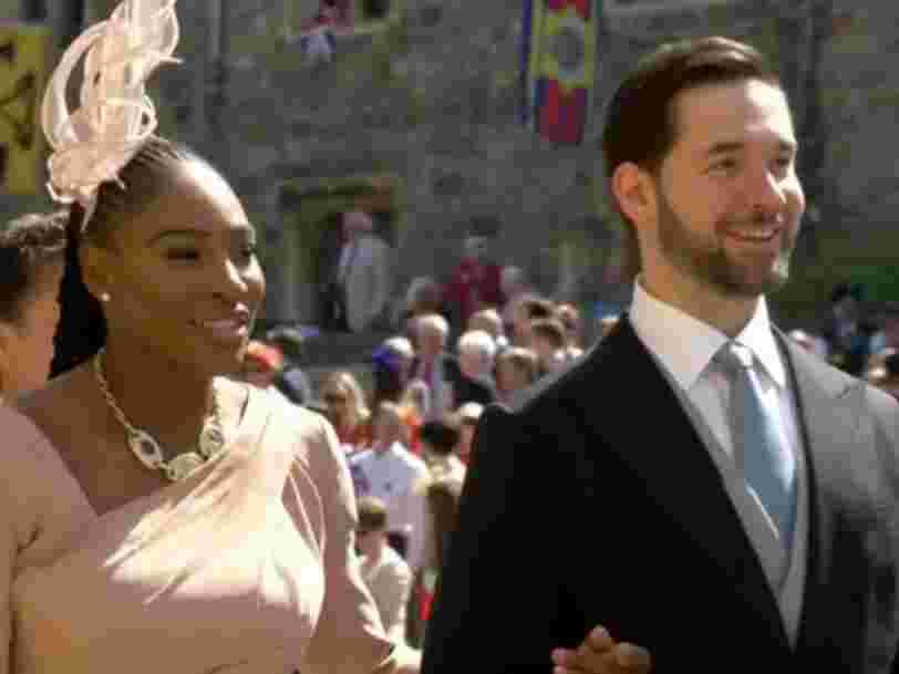Grâce à Serena Williams, Alexis Ohanian de Reddit était le seul magnat de la tech au mariage royal