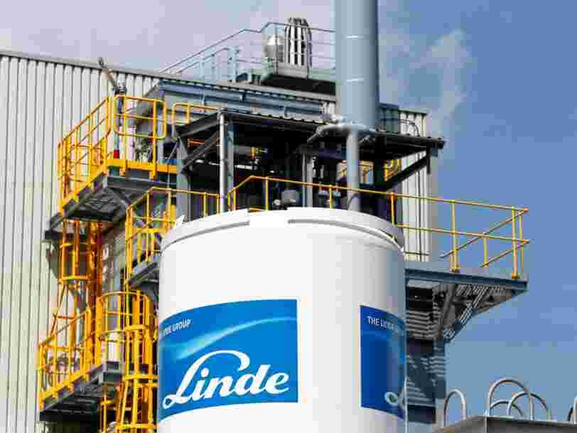 2 géants du gaz industriel fusionnent pour créer un monstre de 65 Mds $ et rivaliser avec Air Liquide