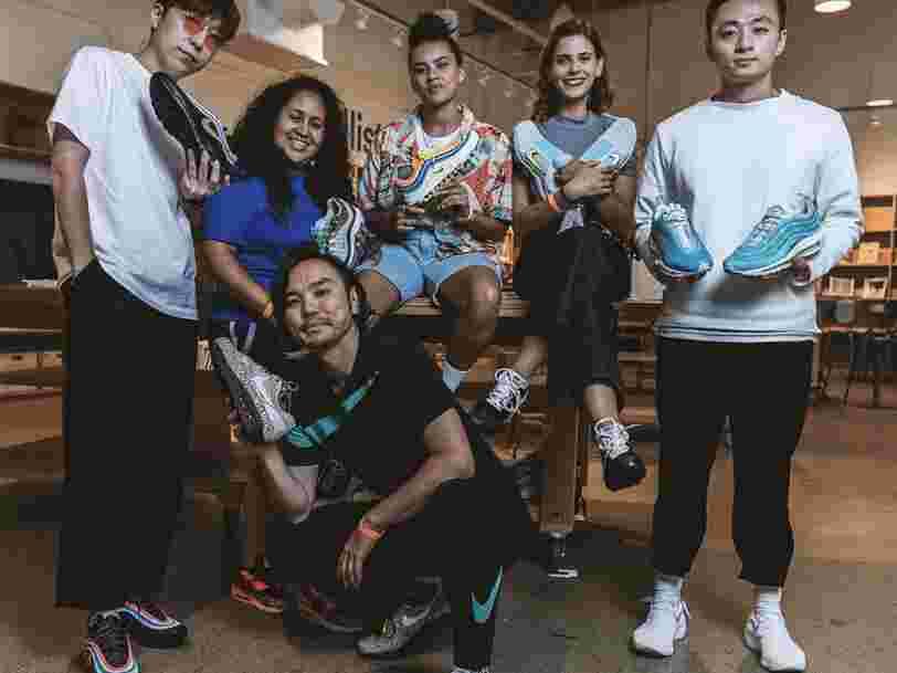 Nike dévoile la date de sortie des paires imaginées par les gagnants du concours 'Nike On Air'