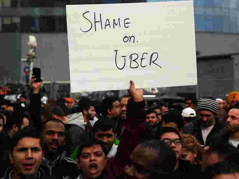 Un mois désastreux pour Uber: chronologie des scandales en cascade qui fragilisent la startup la mieux valorisée au monde