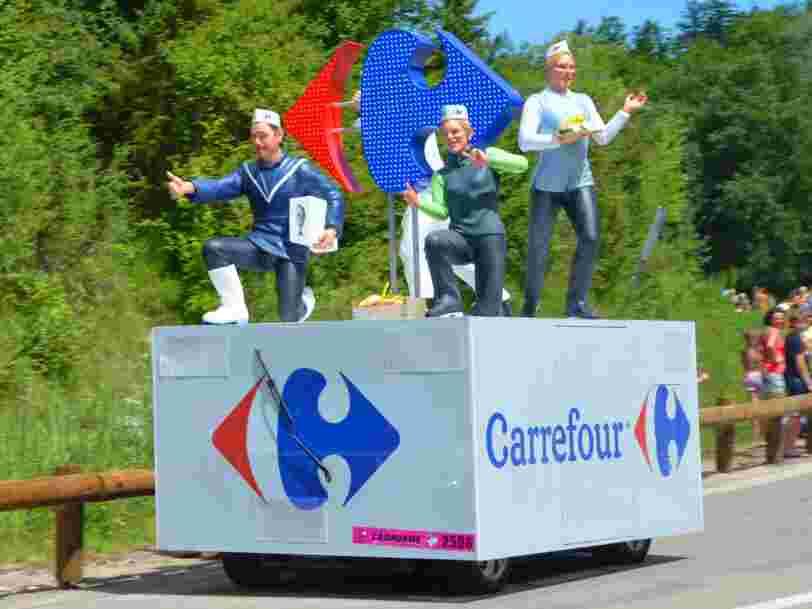 Carrefour va tester une épicerie sans caisse avec ses salariés — et ils pourront payer par reconnaissance faciale comme chez Amazon