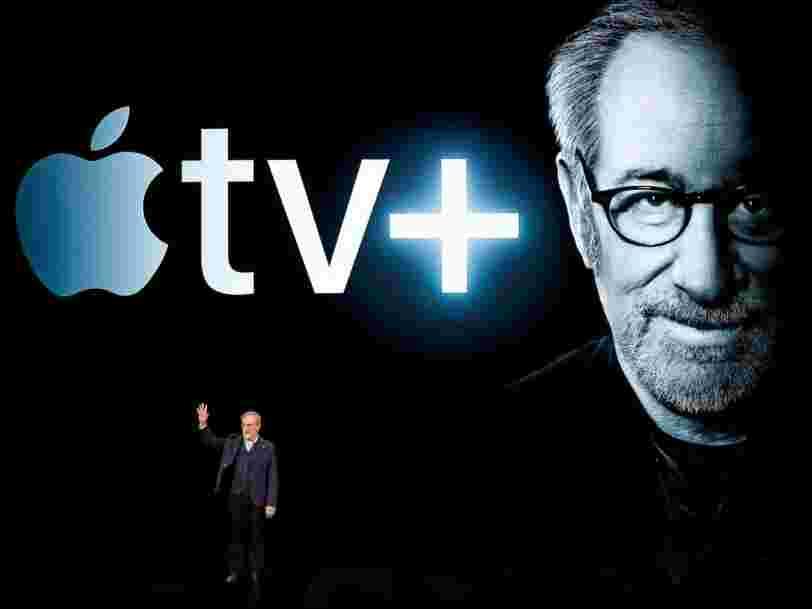 Apple dévoile Apple TV+, son rival de Netflix, ainsi que Apple Arcade et Apple News+