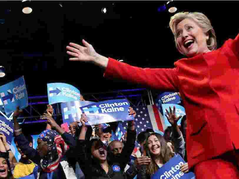Hillary Clinton a clairement gagné le premier débat de la présidentielle américaine, disent les focus groups
