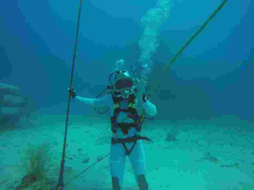 Thomas Pesquet va piloter un rover sous-marin pour préparer les prochaines missions sur la Lune