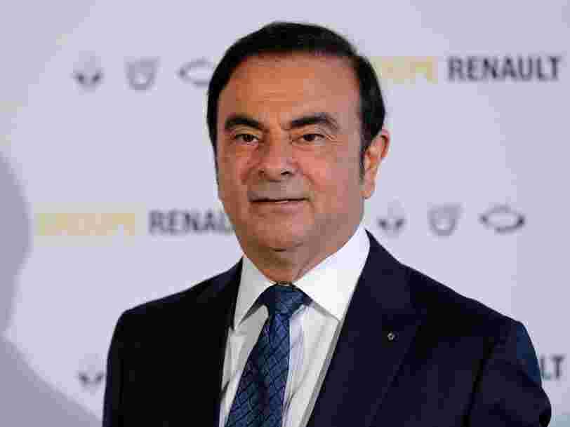 Les indemnités colossales que Carlos Ghosn va perdre chez Renault